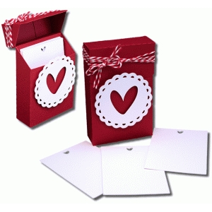 3d love note box