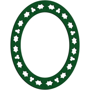 holly frame - oval