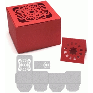 treasure box with flower design