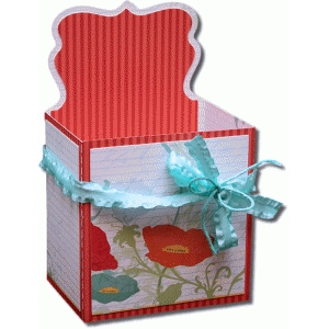 3d artisan label decorative gift box