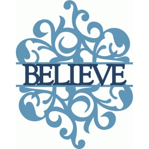 believe split damask flourish