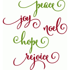 christmas peace words
