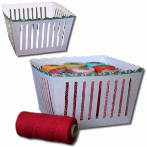 3d xl decorative edge basket