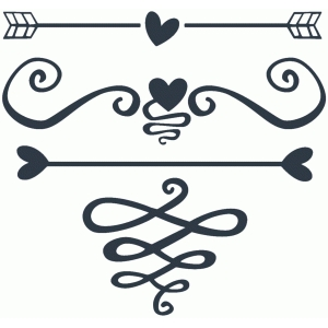 romantic flourish set