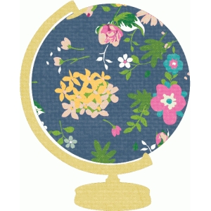 so fancy floral globe