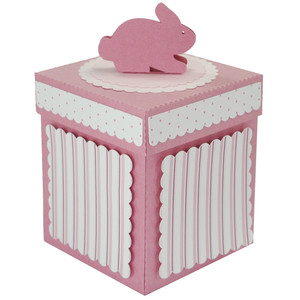 baby bunny gift box with lid