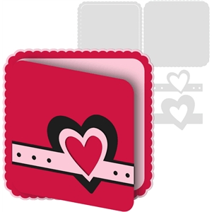 card square valentine