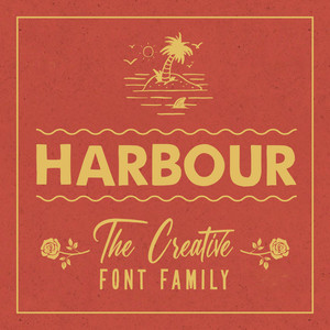 harbour font family