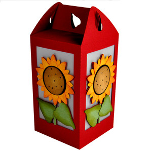 sunflower lantern