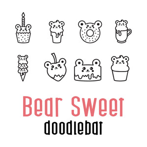 beary sweet doodlebat