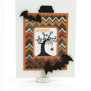 changing scene card halloween spider