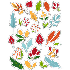 ml fall leaves and fun stickers