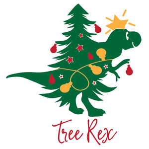 tree rex christmas kids design