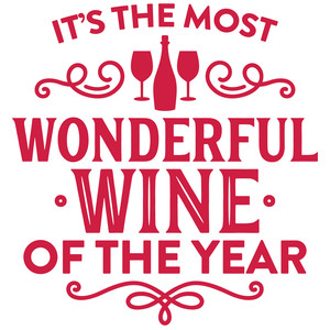 it's the most wonderful wine of the year