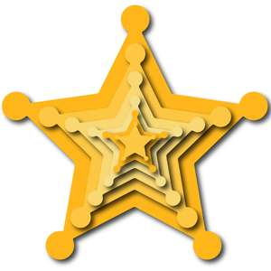 nested sheriff star