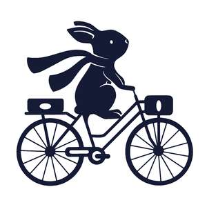 bunny and bike