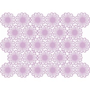 spiral flower background (5x7)