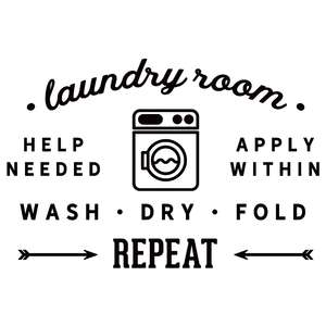 laundry room help needed
