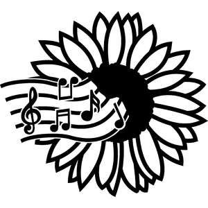 musical sunflower