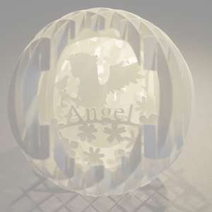 four layered pop up sphere angel pro