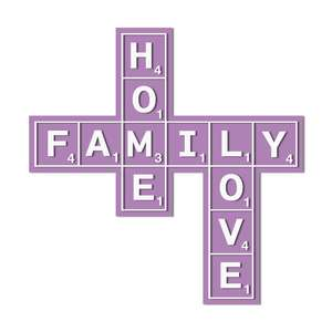 scrabble words home family love