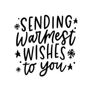 sending warmest wishes to you