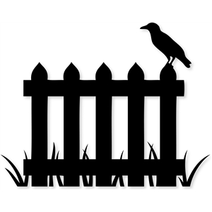 silhouette design store view design 33537 crow fence