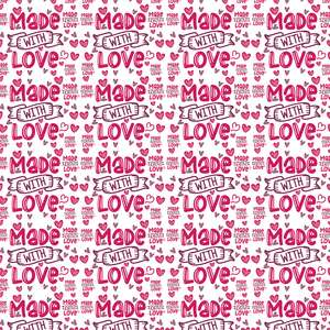 made with love pattern