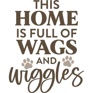 this home is full of wags and wiggles