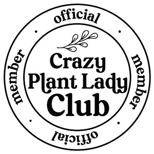 official member - crazy plant lady club
