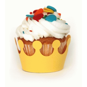 'crown' cupcake holder