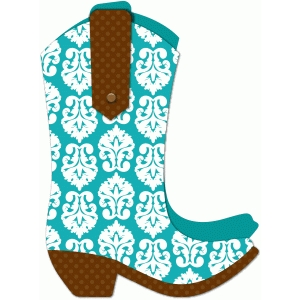 a2 lori whitlock boot shaped card