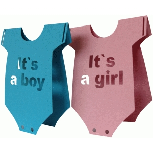 daniela angelova it`s a boy it`s a girl cards