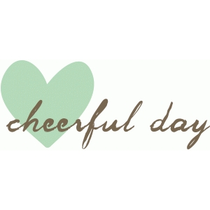 dear lizzy - cheerful day