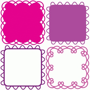 rounded fancy notecards