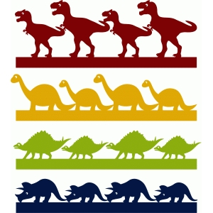 dinosaur borders set