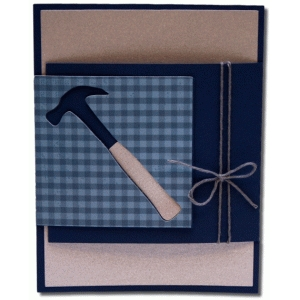 a2 hammer fancy fold card