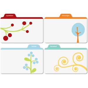 printed recipe tabs-1
