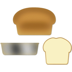 baking set bread