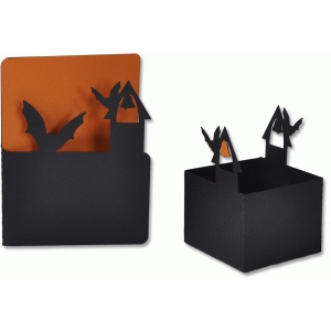 bats in the belfry box and matching card