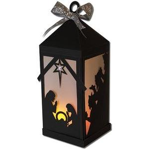 nativity scene lantern (flameless)