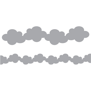 'clouds' border