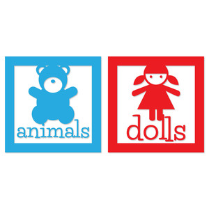 stuffed animal & doll toy labels