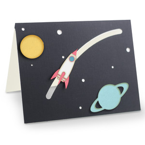 a2 space rocket motion card