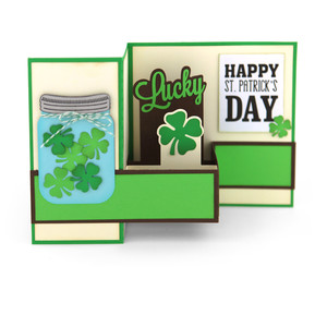 pop up box card st. patrick's
