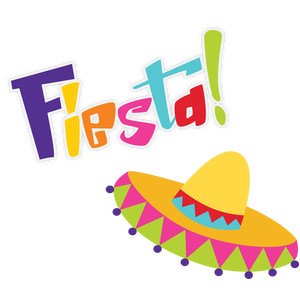 fiesta and sombrero