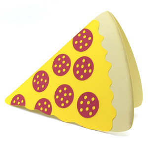 slice of pizza card