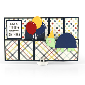 wiper card birthday turtle