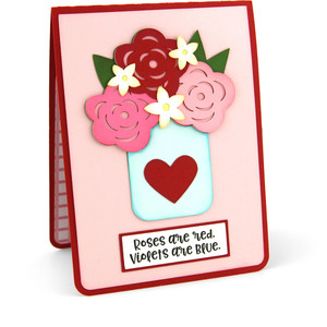 twist pop card roses