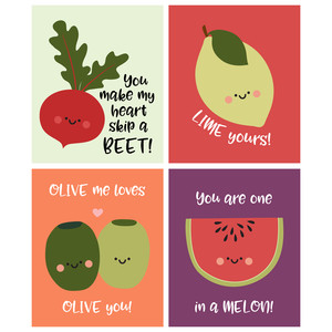 lime yours valentine cards